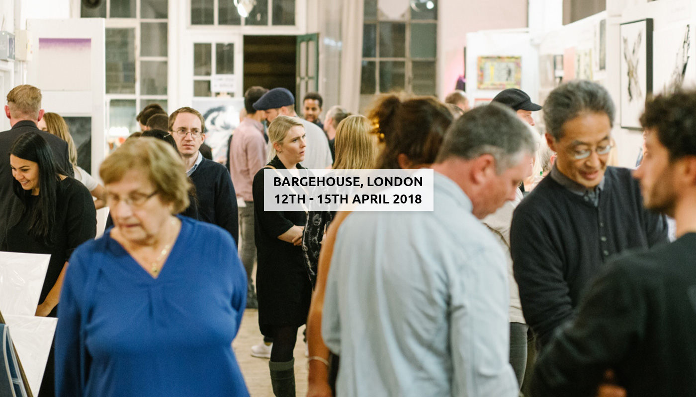 Roys People Art Fair Bargehouse, South Bank, London, 12TH – 15TH APRIL 2018