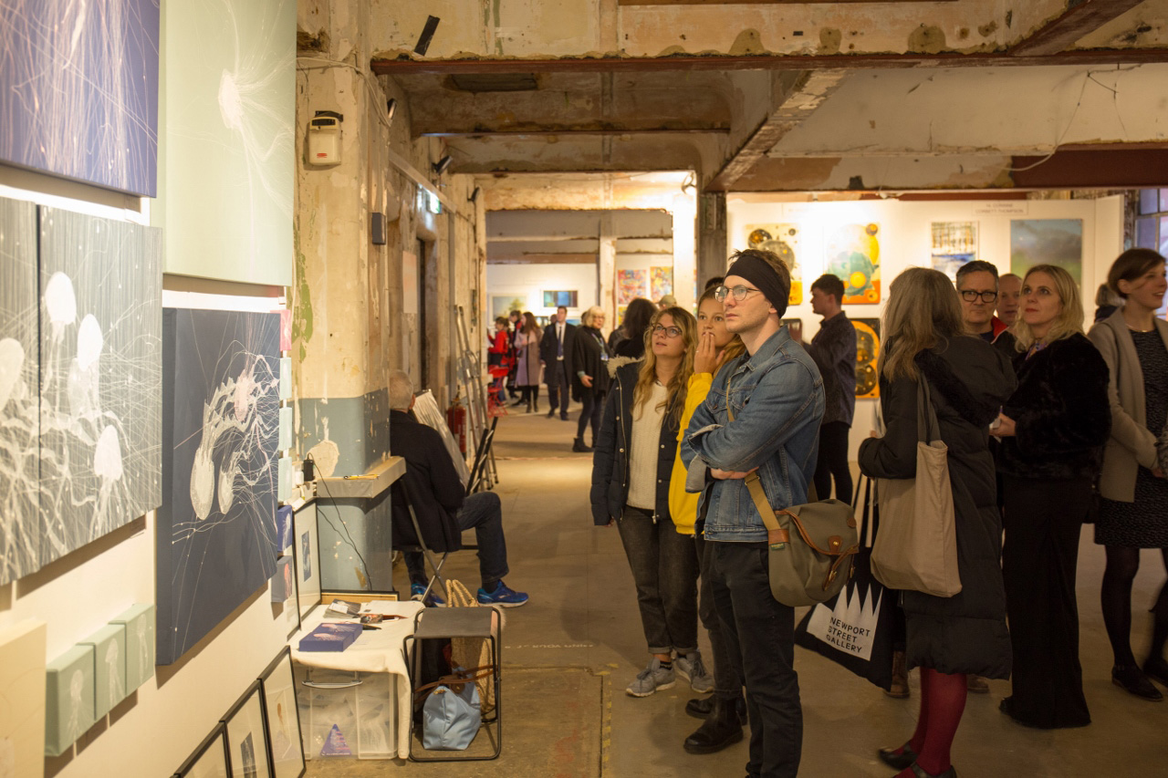 Roys People London Art Fair Bargehouse, South Bank, London, 4TH-7TH APRIL 2019