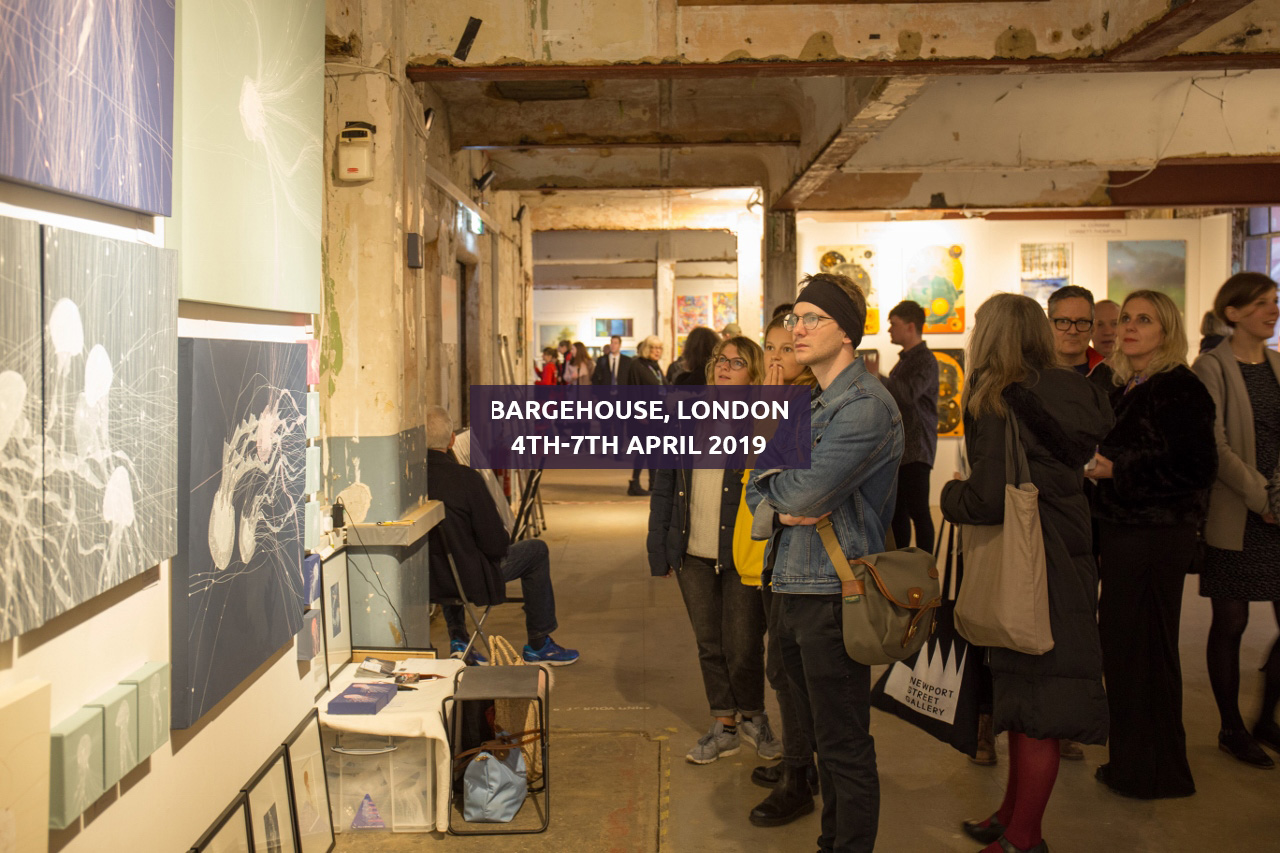Roys People Art Fair Bargehouse, South Bank, London, 4TH-7TH APRIL 2019